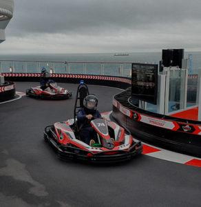 Driving a Formula 1 car